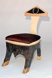 The Solium Cum Cauda (chair with a tail)
