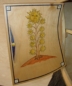 Sun Tree- Alchemist Art