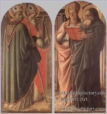 The Doctors Of The Church religious Renaissance Filippo Lippi paintings