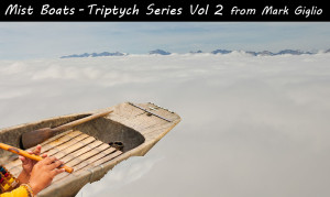 Mist Boats from Triptych Series Vol. 2