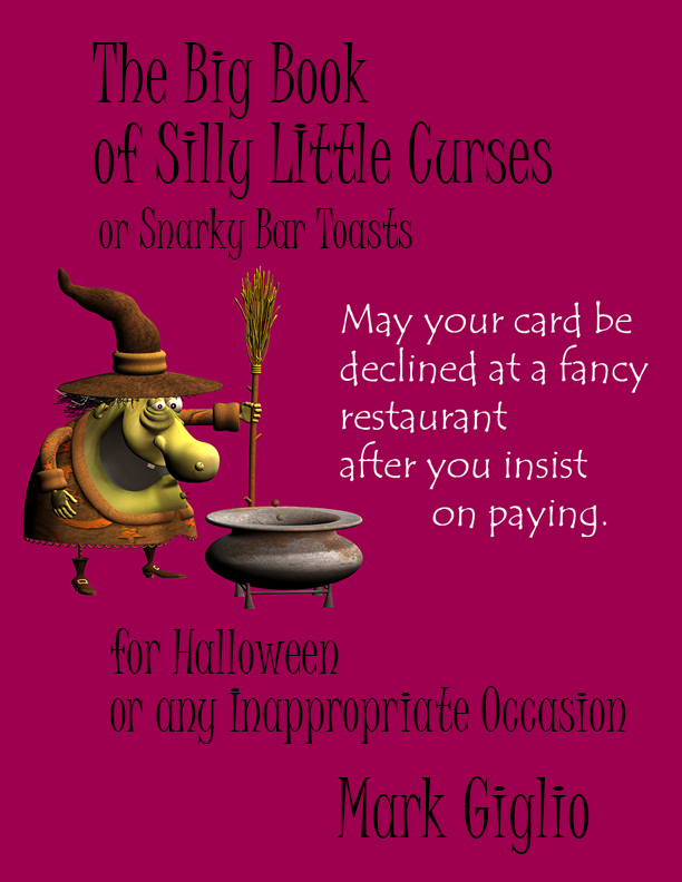 book of silly curses and snarky bar toasts